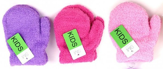 ULTRA SOFT GIRLS MITTS